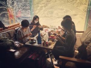 201811 Thecafe ニットカフェ