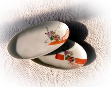 0216雛絵 小皿
