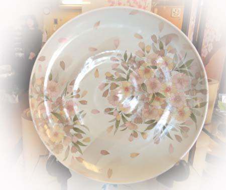 0317桜 大皿