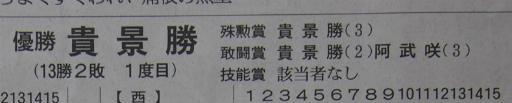 20181126・大相撲04・優勝三賞
