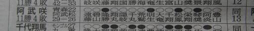 20181126・大相撲10・敢闘賞=阿武咲