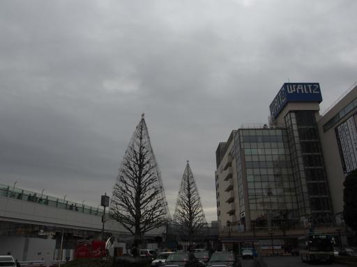 20181216・クリスマス前、所沢空12・所沢駅・大