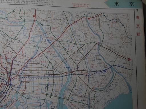 20181222・道路地図03-1・東京都区内