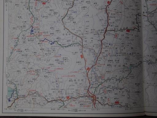 20181223・道路地図12-4・田沢湖・岩手町