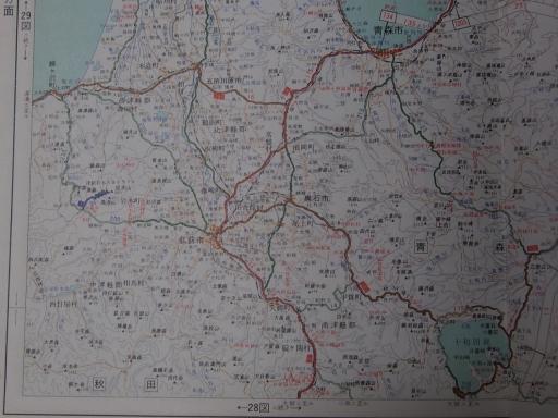 20181223・道路地図13-4・弘前・五所川原