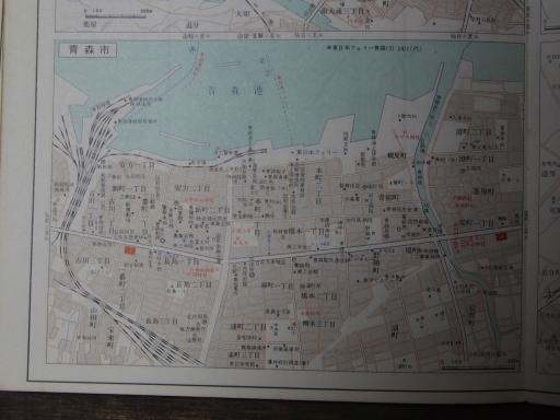 20181223・道路地図16-6・青森市
