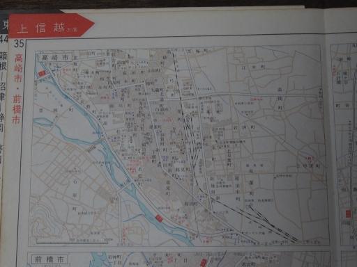 20181223・道路地図25-3・高崎市