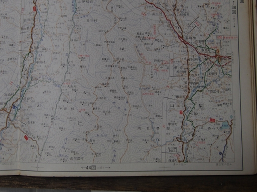 20181223・道路地図28-2・韮崎・南アルプス