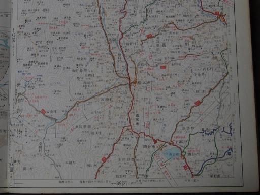 20181223・道路地図29-2・松本・諏訪