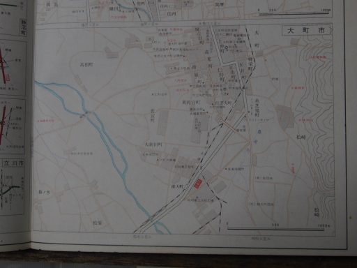 20181223・道路地図30-6・大町市