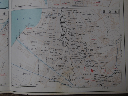 20181223・道路地図30-2・諏訪市