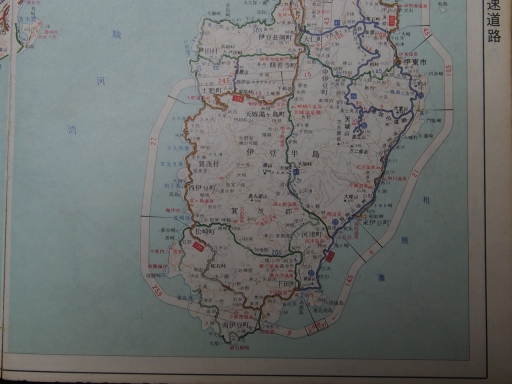 20181225・道路地図32-2・伊東・下田