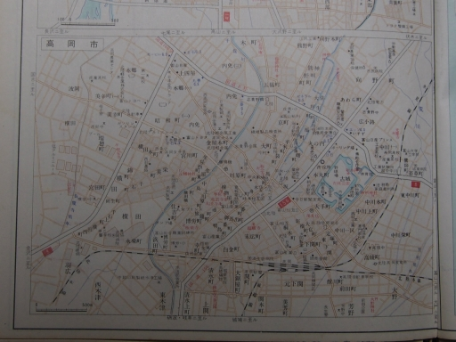 20181225・道路地図43-4・高岡市