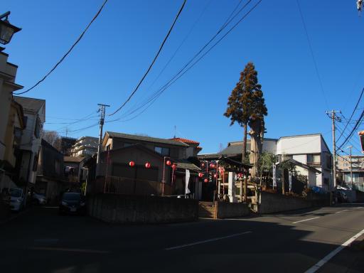 20190101・正月初詣空22・八雲神社1