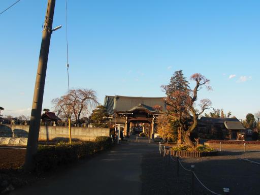 20190120・全徳寺散歩2-01・全徳寺に到着
