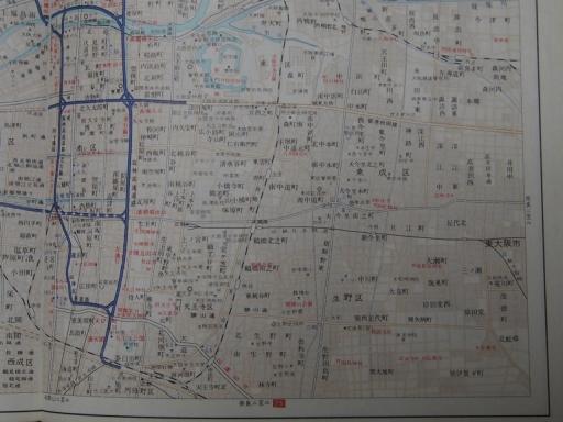 20181225・道路地図44-2・大阪市南東部
