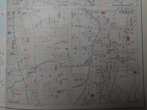 20181225・道路地図49-2・天理市・大和高田市