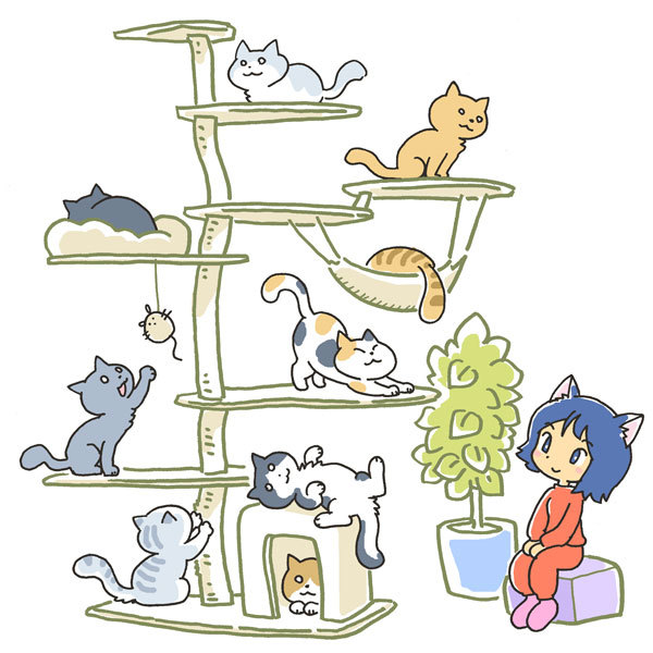 cat tower02