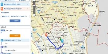 map公立福生病院