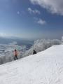 写真1:山頂付近の絶景