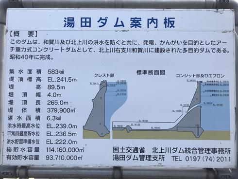 湯田ダム-2