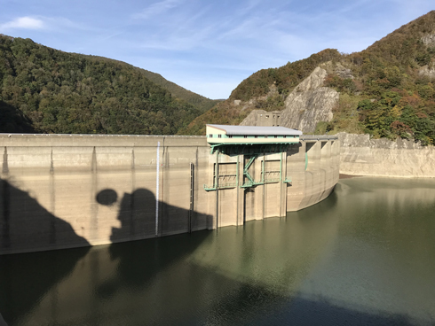 湯田ダム-3