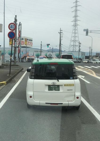 2019.02.09シエンタのタクシー