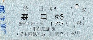 波田→森口