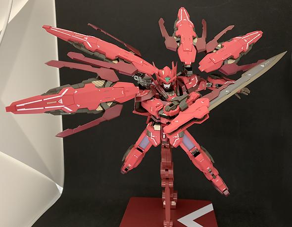 メタルビルド ガンダムアストレア TYPE-F (GN HEAVY WEAPON SET