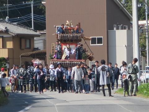 「東大橋香取神社祭礼」①