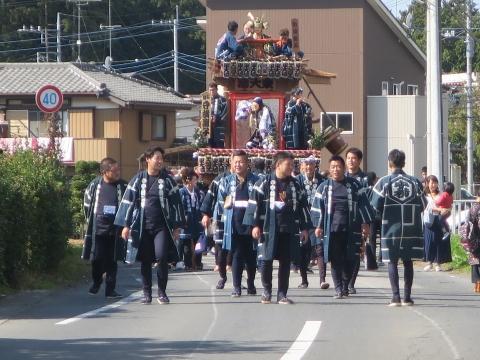「東大橋香取神社祭礼」②