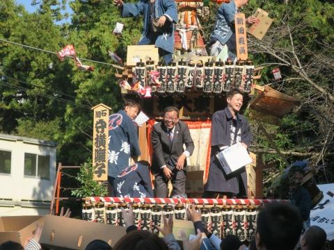 「東大橋香取神社祭礼」④