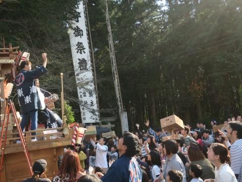 「東大橋香取神社祭礼」⑦