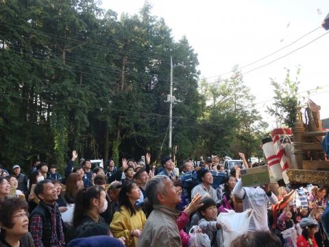「東大橋香取神社祭礼」⑧