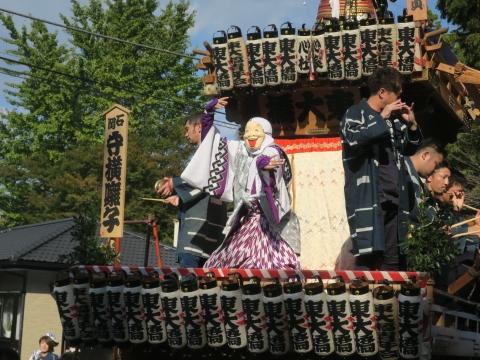 「東大橋香取神社祭礼」⑫
