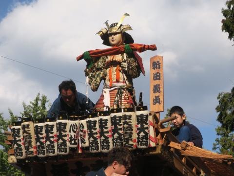 「東大橋香取神社祭礼」⑬