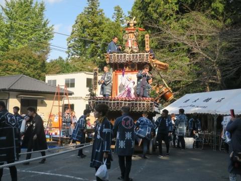 「東大橋香取神社祭礼」⑭