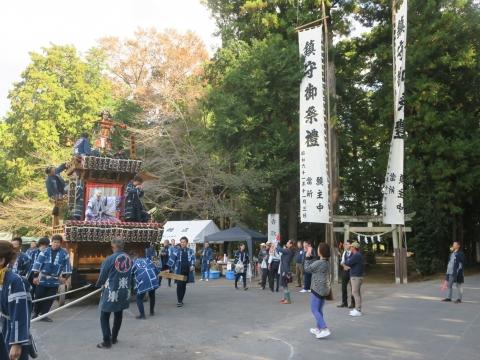 「東大橋香取神社祭礼」⑯