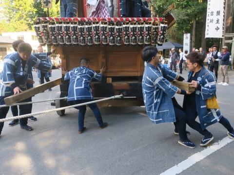 「東大橋香取神社祭礼」⑰
