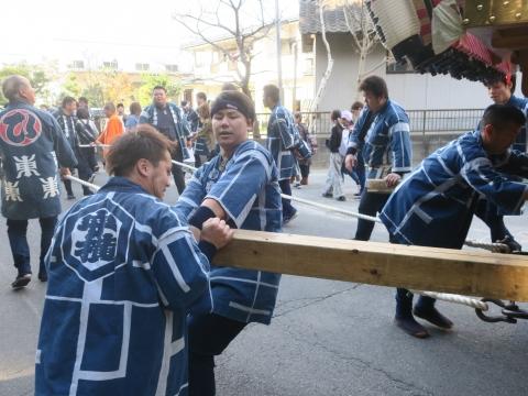 「東大橋香取神社祭礼」⑱