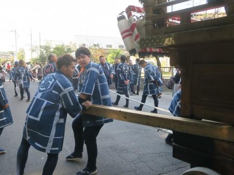 「東大橋香取神社祭礼」⑲