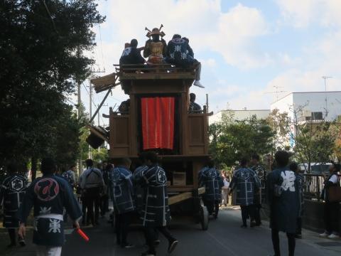 「東大橋香取神社祭礼」⑳