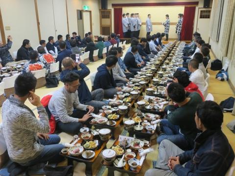 「平成30年度石岡青年会」引継ぎ式&笠抜き①