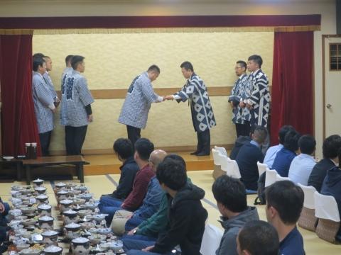「平成30年度石岡青年会」引継ぎ式&笠抜き③