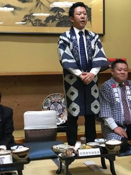 「平成30年度石岡青年会」引継ぎ式&笠抜き⑦