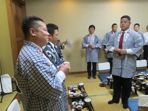「平成30年度石岡青年会」引継ぎ式&笠抜き⑬