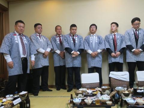 「平成30年度石岡青年会」引継ぎ式&笠抜き⑰