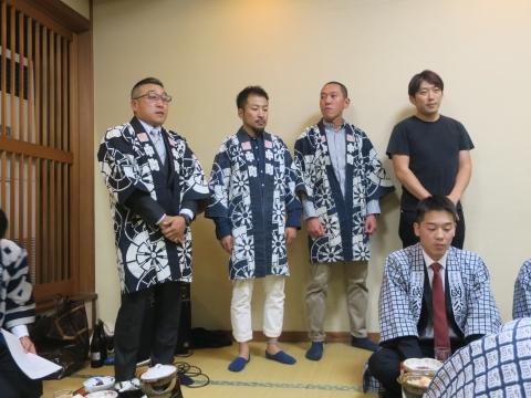 「平成30年度石岡青年会」引継ぎ式&笠抜き⑱