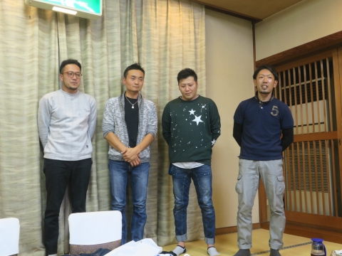 「平成30年度石岡青年会」引継ぎ式&笠抜き㉓