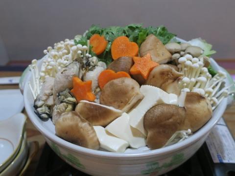「今季初の鍋!」